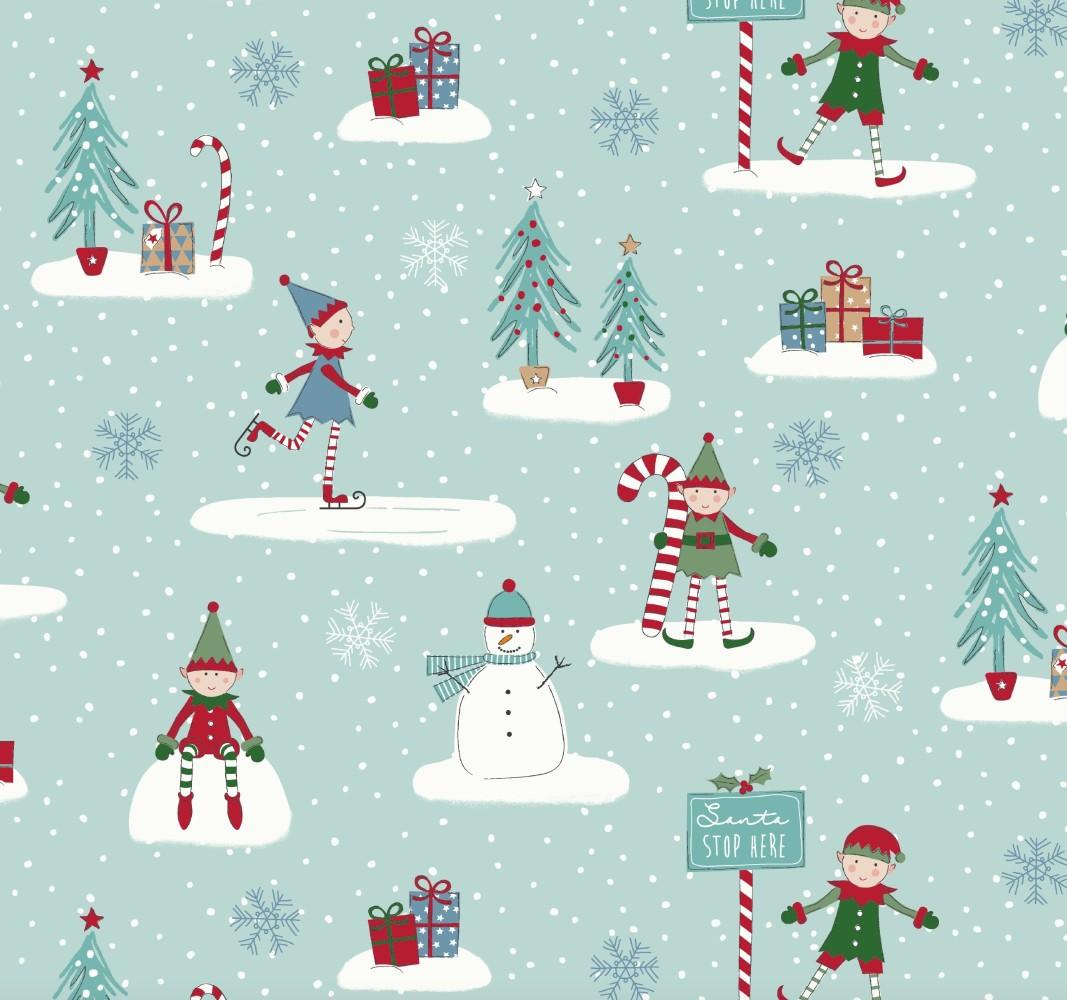 Buy a Christmas Oilcloth