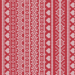 Fairisle red