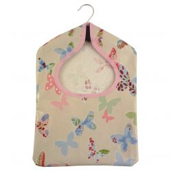 Butterlfy Vintage Oilcloth Peg Bags