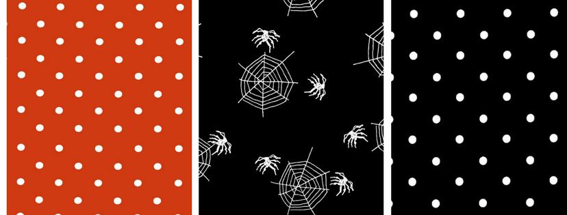 Halloween oilcloth