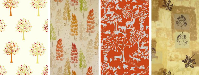 autumnal oilcloths