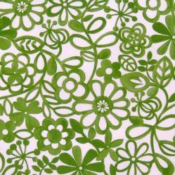 Hazy Days Apple Gloss Oilcloth