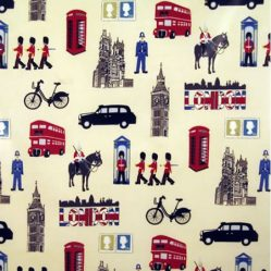 London Gloss Oilcloth