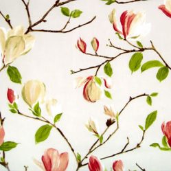 Magnolia Chintz Gloss Oilcoth