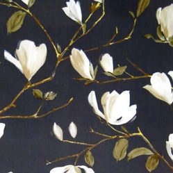 Magnolia Graphite Gloss Oilcoth