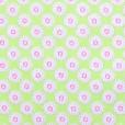 Maisy Lime Gloss Oilcloth