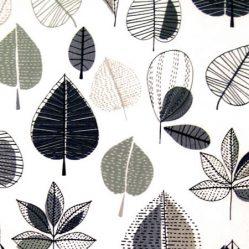Maple Graphite Matt Oilcloth