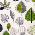 Maple Lime Matt Oilcloth