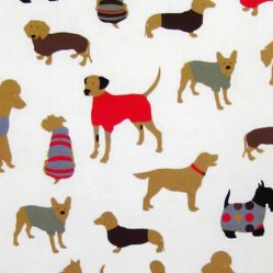 Top Dog Cinnamon Gloss Oilcloth