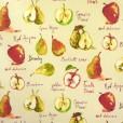 Autumn Fruit Matt Oilcloth