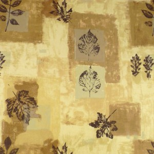 Autumn Leaves Matt Oilcloth