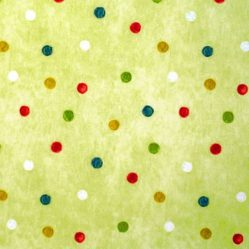 Country Spot Apple Gloss Oilcloth