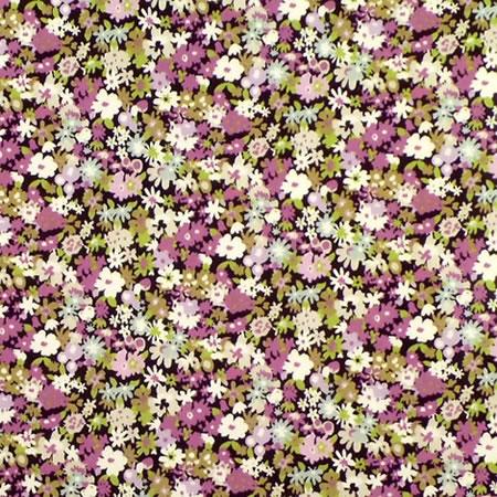 Dizzy Lizzy Lilac Gloss Oilcloth