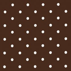 Dotty Chocolate Oilcloth