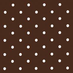 Dotty Chocolate Oilcloth