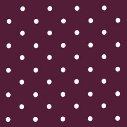 Dotty Mulberry Oilcloth