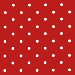 Dotty Red Oilcloth