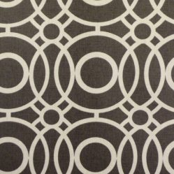 Eclipse Charcoal Matt Oilcloth