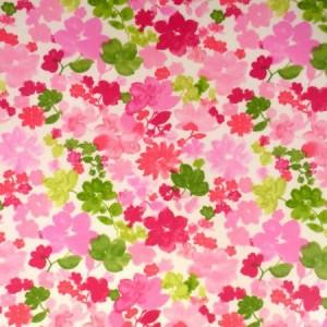 Fantasia Cerise Gloss Oilcloth