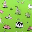Funky Farm Gloss Oilcloth