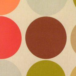 Great Dot Amber Matt Oilcloth