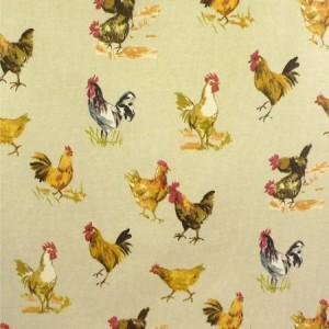 Hens Matt Oilcloth