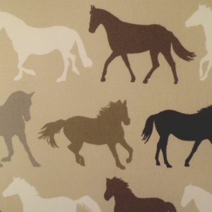 Stampede Natural Gloss Oilcloth