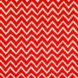 Ziggy Red Gloss Oilcloth